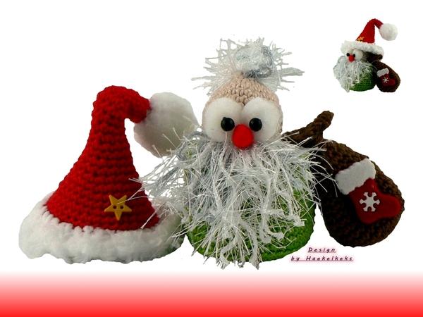 Kerstman In Een Potje Haakpatroon Van Haekelkeks