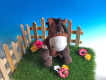 Crochet Pattern  Pony Pierre, little horse by jennysideenreich