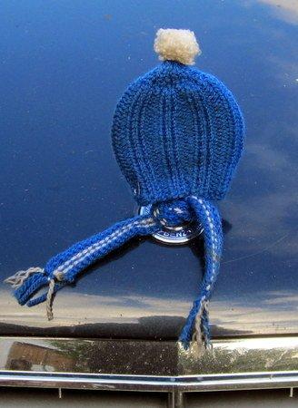 ef58db0eec23ec Mütze und Schal für den Mercedesstern