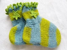 Häkelanleitung Filzsocken 27-43 Lifestyle Design No.16