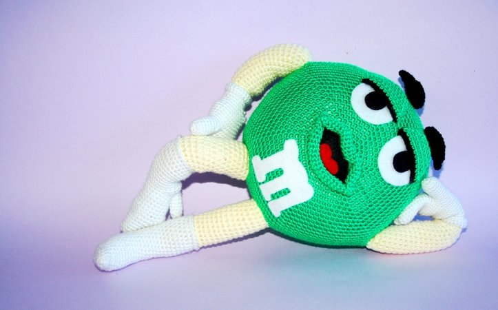 Free Amigurumi Leprechaun Pattern : Green crochet pattern