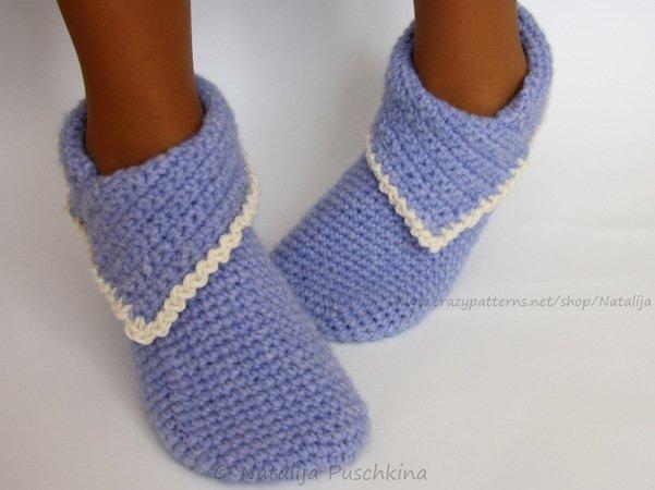 Crochet Socks Crochet Slippershouse Shoes