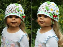 Strawberry Field Hat Crochet Pattern