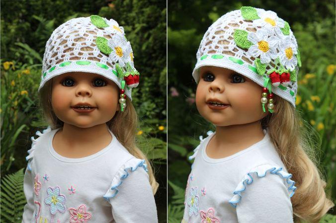 Strawberry Field Hat Crochet Pattern