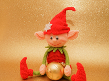Crochet pattern Christmas elf
