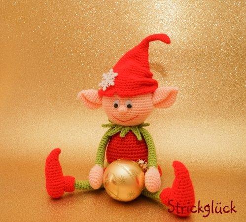 Crochet Christmas Elves Amigurumi Free Pattern - #Amigurumi; #Elf ... | 450x499