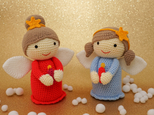 Crochet Pattern Christmas Angel Amigurumi