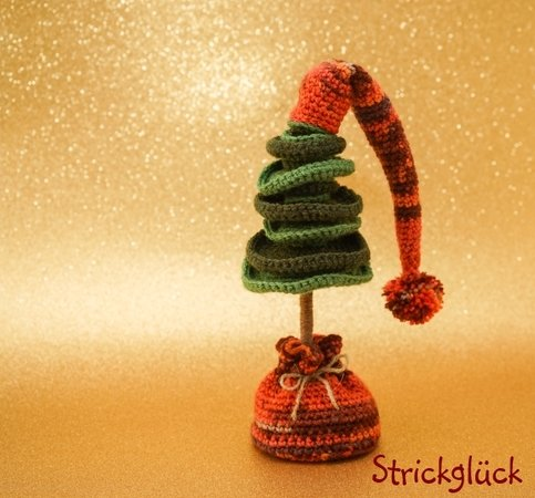 Crochet pattern Christmas Tree Amigurumi