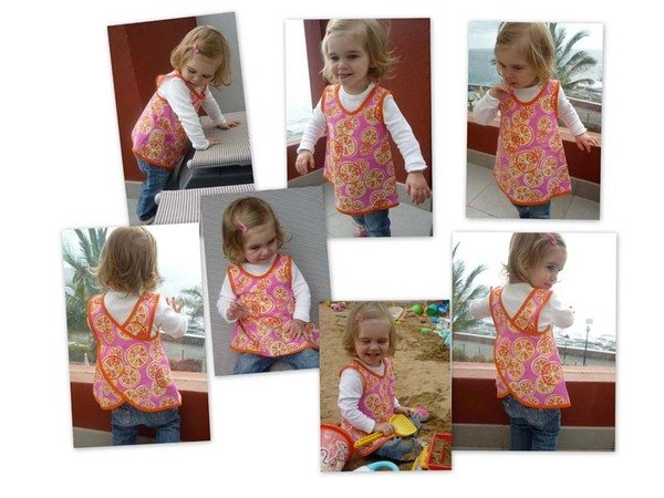 FLORAs dress / tunic top pattern - sizes 62-104 / 6 mo.- 4/5 yrs.