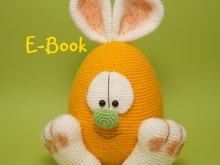Crochet Pattern Easter Egg Rabbit Bunny Hare Amigurumi
