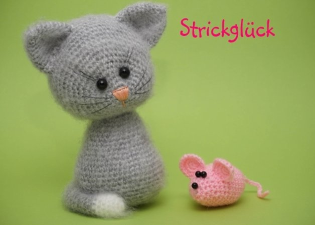 Free Amigurumi Mouse Pattern : Crochet pattern cat mouse amigurumi pdf