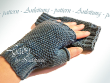 GABY fingerless mitts mittens gloves