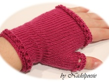 Donna fingerless mitts mittens gloves