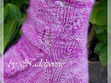Majalis sock pattern knitting