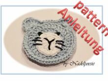 Applique cat pattern