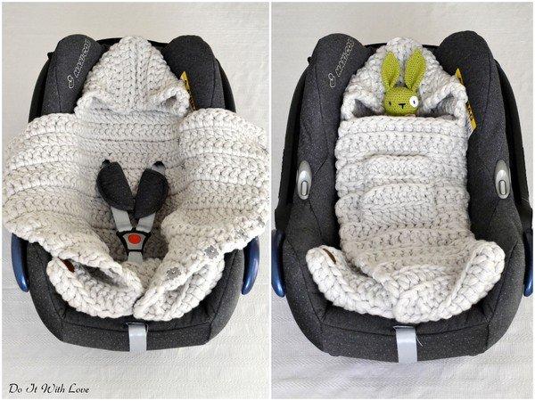 Baby Schlafsack Häkeln Pucksack 3in1