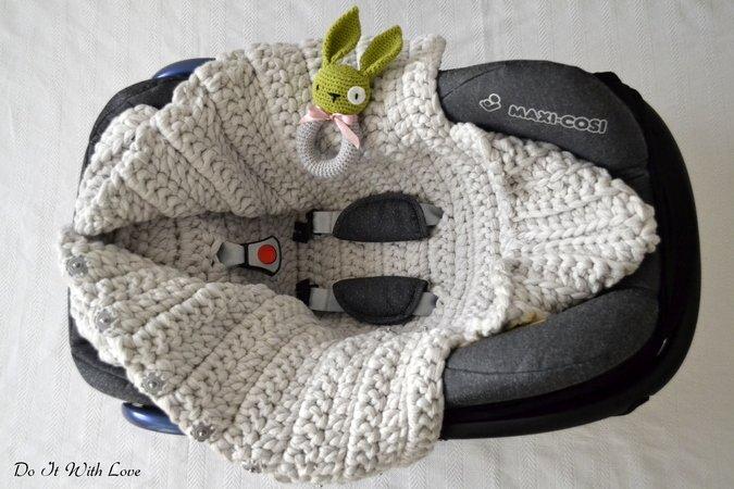 Baby-Schlafsack häkeln // Pucksack // 3in1