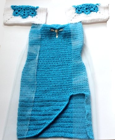 Ice Queen Elsa Dress And Crown Pattern