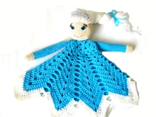 Crochet Lovey Pattern Elsa Frozen