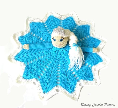 6 Doll Lovey Free Crochet Pattern and Paid | 450x488