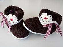 "Booties ""Bavarian Style"""