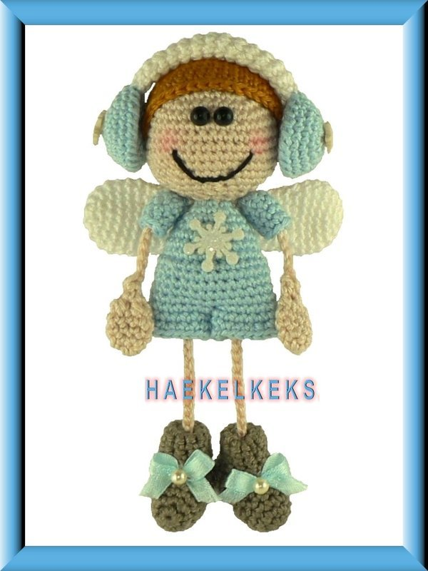 Crochet Stitches English Version : ... angel. With this pattern you can crochet your own guardian angel