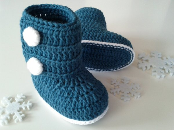 Baby-Booties - Crochet Pattern
