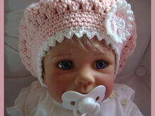 Baby Children Balloon Hat Cap Slouchy Beanie Crochet Pattern
