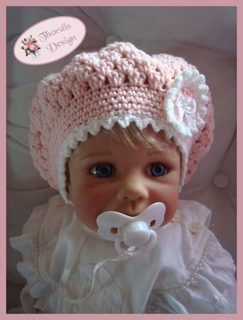 Baby Children Balloon Hat Cap Slouchy Beanie Crochet Pattern 7618e8d2b50