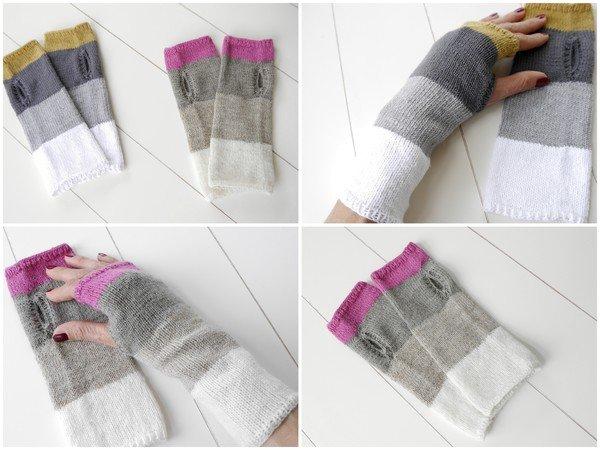 einfache und schnelle strickanleitung f r stulpen simply fingerlose handschuhe stricken 122. Black Bedroom Furniture Sets. Home Design Ideas