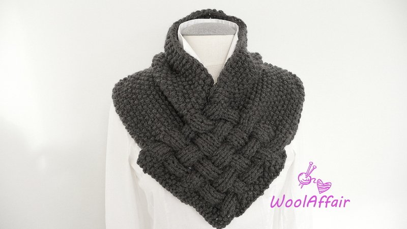 Pattern For Knitting A Loop Weave Style