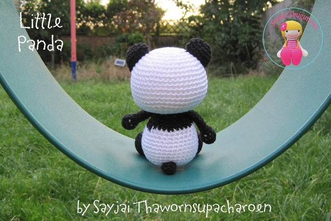 Panda Amigurumi (tutorial) - YouTube | 450x674