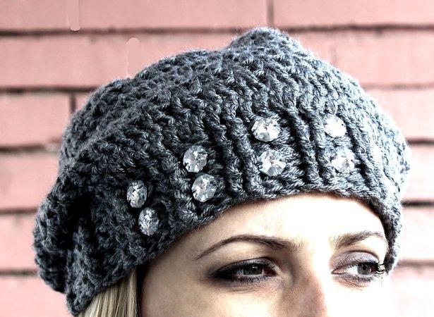 cfac1e83f20 Crochet Slouchy Beanie