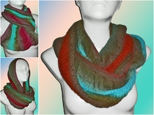 "Knitting pattern cowl ""Sador"""