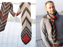 Scarf Rolo knitting pattern