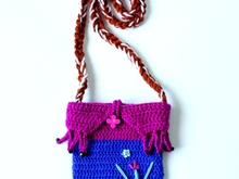 Crochet Purse Pattern Anna Frozen