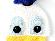 Donald Crochet Hat Pattern