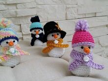 Crochet Pattern: Snowman Fröstchen - english Version