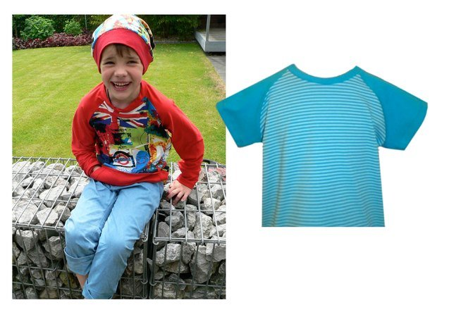 Ben & HOLLYs shirt / long and short sleeve pattern , sizes 110-152 / 5-12 years