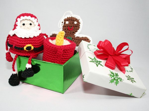 Decoration Pack Christmas - Crochet Patterns