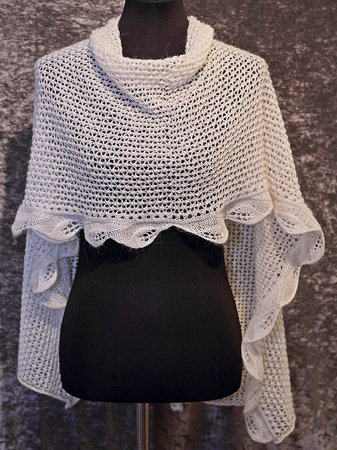 "Knitting pattern shawl ""Galadriel"""