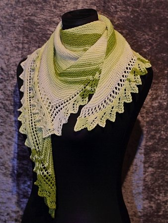 "Knitting pattern shawl ""Eowyn """