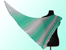 "Knitting pattern shawl ""Rivendell"""
