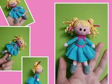 Fingerpuppet Klarissa English E-Book