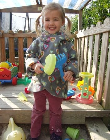 LILIAs jacket (with a flower) pattern, sizes 62-104 / 6 mo. – 4/5 yrs.