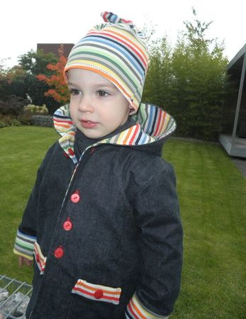 HENRYs & HENRIETTEs reversible jacket pattern, sizes 62-104 / 6 mo. – 4/5 yrs.