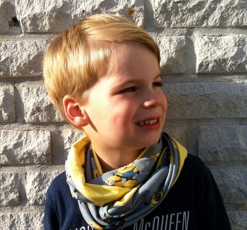 KIMs Loop Scarf pattern / Cowl Neck Scarf – single or double