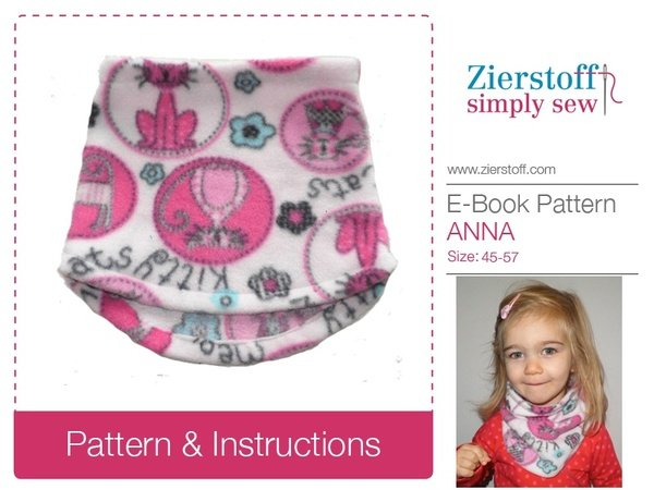 ANNAs scarf – sizes 45-57 / 17 3/4″-22 1/2″ (3 mo. – 14 years)