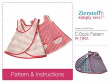 FLORAs doll´s dress pattern