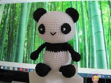 Little Panda, free Amigurumi crochet pattern